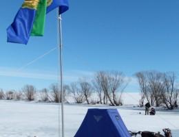 Продукция компании Scorpio - палатка, вид сбоку