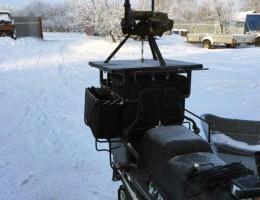 Стул стрелковый на снегоходе