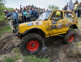 Желтая Нива в грязи